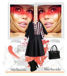 """sheinside"" by karic-lejla ❤ liked on Polyvore featuring mode, Anja en Topshop"