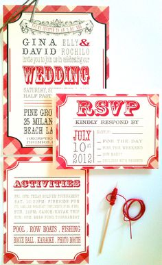 Wedding Invitation Country Wedding by twigsprintstudio on Etsy