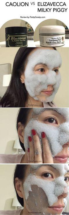 ULTIMATE Carbonated Bubble Mask Comparison. The Latest Beauty Craze! Click for…