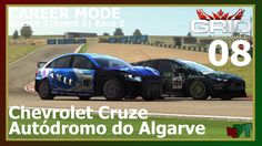 Grid Autosport - Career Mode 08 - Autódromo do Algarve - Chevrolet Cruze