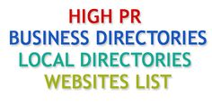 Here We Can Find High PR Free Canadian Local Business Listing Sites, Canadian Business Directory Online, Canadian Business Directory List 2016
