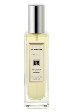 Jo Malone™ Blue Agava & Cacao Cologne (1 oz.) available at #Nordstrom.  Layer this over Red Roses and it's a light floral scent with a little spice! love!  And Blue Agava is so unique of a smell.  It's heaven!