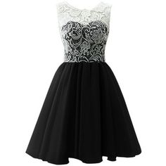 Dresstells Women's Tulle High Low Homecoming Dress Lace Prom Dress