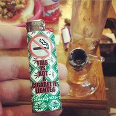 Not a Cigarette Lighter! - Marijuana Memes