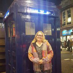 Endelig var det min tur  Finaly my turn! #drwho #doctorwho #tardis #earlscourt #whovian #england #timeandrelativedimentionsinspace #fangirl