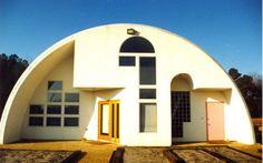 Quonset hut homes...a cheap housing alternative....