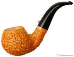 L'Anatra Sandblasted Bent Apple Pipes at Smoking Pipes .com