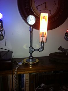 Working thermometer light
