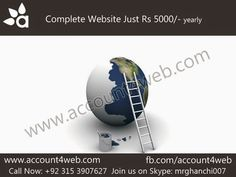 Account4WEB || Web Hosting in Pakistan.: Website Designing By Account4WEB
