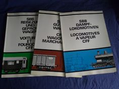 Livros&BD4sale: 4 Sale - Material Circulante da SBB