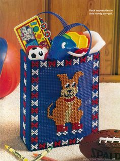 PUP TOTE by MARY T. COSGROVE 1/2