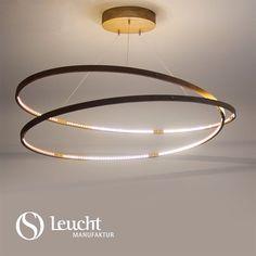 Infinity – leuchtendes Symbol der Unendlichkeit #infinity: handmade in Munich by #Leuchtmanufaktur. Designer: Otto Sprencz #Lichtdesign, #lightdesign, #Holzleuchte, #woodlamp, #LED