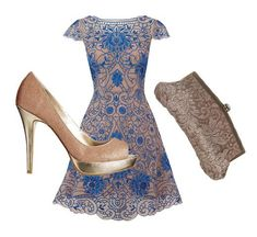 Wedding guest outfit ideas: Swinging skirt find more women fashion on misspool.com