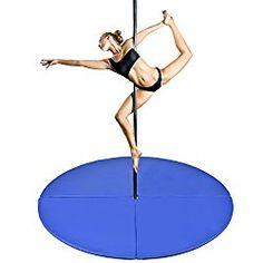 Pole Dance crash mat blue