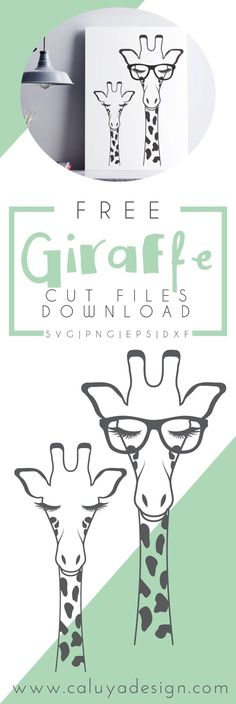 Free Giraffe SVG cut file download, compatible with Cameo silhouette and Cricut Explore, and other major cutting machines. Perfect for your DIY projects, personalized mugs and t-shirts and so on! Free Giraffe SVG cut file, Animal SVG cut file, Cute SVG cut file, Free SVG cut file download