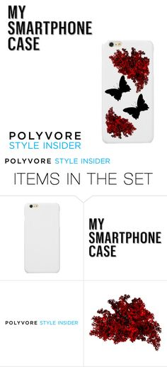 """""""My Smartphone ❤♥ Red and Black  #MySmart"""" by gabydesigner on Polyvore featuring art, contestentry and PVStyleInsiderContest"""