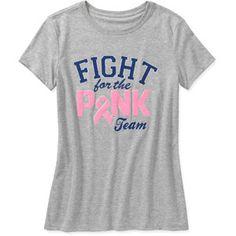 Women's Breast Cancer Awareness Short Sleeve Tee