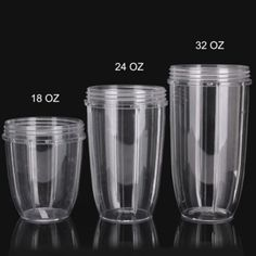 High Quality Clear Juicer Cup Mug Replacement Parts For NutriBullet Nutri Bullet Juicer 18/24/32OZ Kitchen Cooking Tools