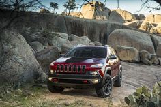 2014 Jeep Cherokee Trailhawk :: 21 years later, after the introduction of the Grand Cherokee, this might be the vehicle that redefines Jeep once again.