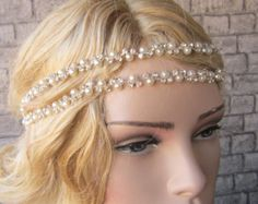 Wedding headband Hair Accessories Wedding Head Chain   Standart shipping I ship from Turkey , General delivery durations are USA : 12 /20 days Canada : 10/20days  Australia: 15/25 days  Thank you so much for choosing my store.