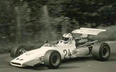 1969 German GP, Nurburgring : Gerhard Mitter, BMW 269 F2 #24, BMW Racing, Did Not Start. (fatal crash during practice). (ph: © Manfred Rommelsheim)