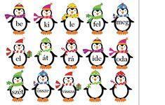 Játékos tanulás és kreativitás: Igekötők gyakorlása játékosan Dysgraphia, Dyslexia, Penguin Birthday, Bulletin Board Letters, Birthday Charts, Grammar, Children, Kids, Literature