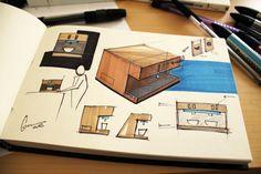 sketchbook, sketches, doodles, products