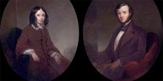 Robert and Elizabeth Barrett Browning appear as one of most romantic literary couples from the Victorian period. Robert Barrett was alread. Elizabeth Barrett Browning, Great Love Stories, Love Story, Missed In History, Robert Browning, British Literature, British History, Star Wars, Beautiful Poetry