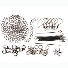 68pc Starter Pack- #Gunmetal #DIY #jewelry