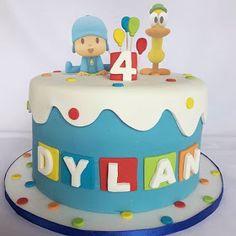 Baby Birthday Cakes, 4th Birthday Parties, 3rd Birthday, Fondant Cakes, Cake Smash, Birthday Decorations, Fun Desserts, Birthdays, Cake Pocoyo