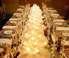 RT @colincowie:  This table is really decorated with rock salt! My fav candlescapes: http://ccwed.me/Ve62P3