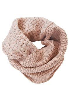 Dual knit: waffle knit infinity scar