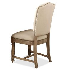 Coventry Side Chair (each) in Weathered Driftwood by Riverside Furniture