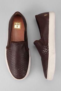 Frye Chambers Cutout Slip-On Sneaker