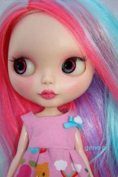 Hello Kitty Blythe by genepdoll - Photobucket