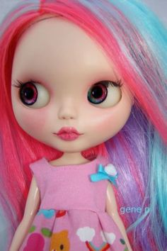 Hello Kitty Blythe by genepdoll - Photobucket
