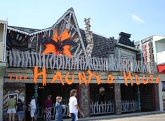 The haunted house - Ocean City, Maryland on the boardwalk - SO many memories there. @Heather Holtzople totally had to tag you in this!