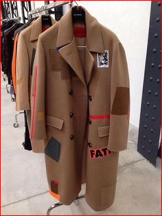RAF SIMONS TAPED TRENCH - Google Search