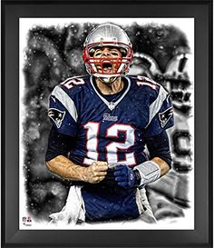 Tom Brady New England Patriots Framed x In the Zone Photograph - Fanatics  Authentic Certified bf25cb503