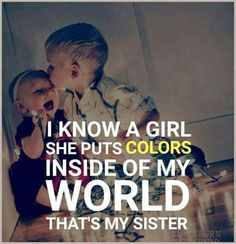 Tag-mention-share with your Brother and Sister Brother Sister Love Quotes, Brother And Sister Relationship, Brother Birthday Quotes, Sister Day, Brother And Sister Love, Sister Captions, Feeling Sad Quotes, Family Love Quotes, Sis Loves