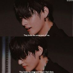 I always see this quote but somehow it hits harder with this photo of Tae Bts Lyrics Quotes, Bts Qoutes, Foto Bts, Bts Photo, Mood Quotes, Life Quotes, Bts Texts, Mood Pics, Bts Lockscreen
