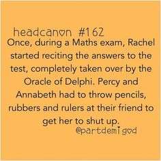 Omg!!! Funny!<<< remember how in the Last Olympian she was joking about that?