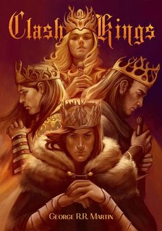 A Clash of Kings. I love this cover; Joffrey looks exactly how I picture him in … – winter is coming Game Of Thrones Artwork, Game Of Thrones Books, Hbo Tv Series, A Clash Of Kings, Fantasy Literature, Fire Book, Fanart, King In The North, Kings Game