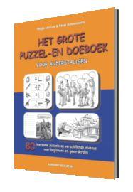 Cover boek 'NT2 grote puzzel- en doeboek voor anderstaligen'