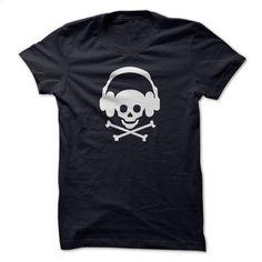 Skull Music T Shirt, Hoodie, Sweatshirts - hoodie #Tshirt #fashion