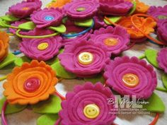 Fleece Flowers: Faster and Fresher with Scallop Circles