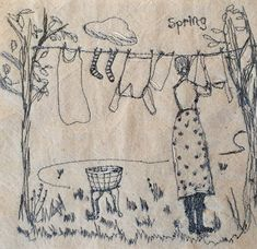 Hand Embroidery Art, Cross Stitch Embroidery, Embroidery Patterns, Machine Embroidery, Fabric Art, Fabric Sewing, Landscape Quilts, Barn Quilts, Textile Artists