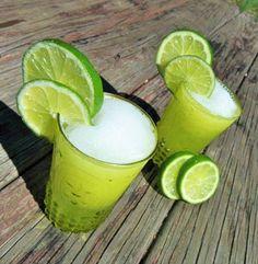 Frozen Lemon-Lime Rum Punch