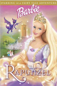 Barbie as Rapunzel 27x40 Movie Poster (2002)