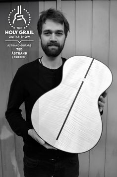 Exhibitor at The Holy Grail Guitar Show 2014: Ted Åstrand, Åstrand Guitars, Sweden  http://www.astrandguitars.com http://www.facebook.com/astrandguitars http://holygrailguitarshow.com